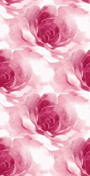 Iphone Wallpaper Gorgeous Watercolor Rose Print Illustrations