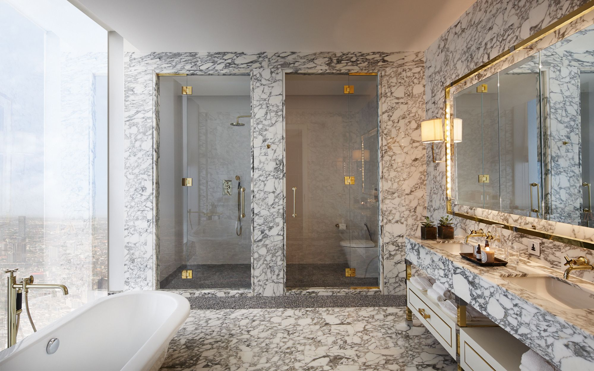 David Collins   Three Bed Apartment at the Ritz Carlton Residences at  MahaNakhon   Best Bathroom DesignsBathroom. David Collins   Three Bed Apartment at the Ritz Carlton Residences