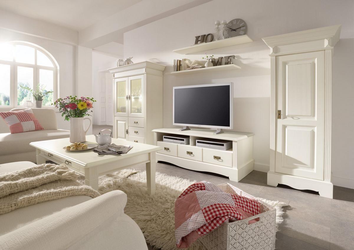 Landhaus Wohnzimmer komplett Kiefer PARIS Vintage in 2018 ...
