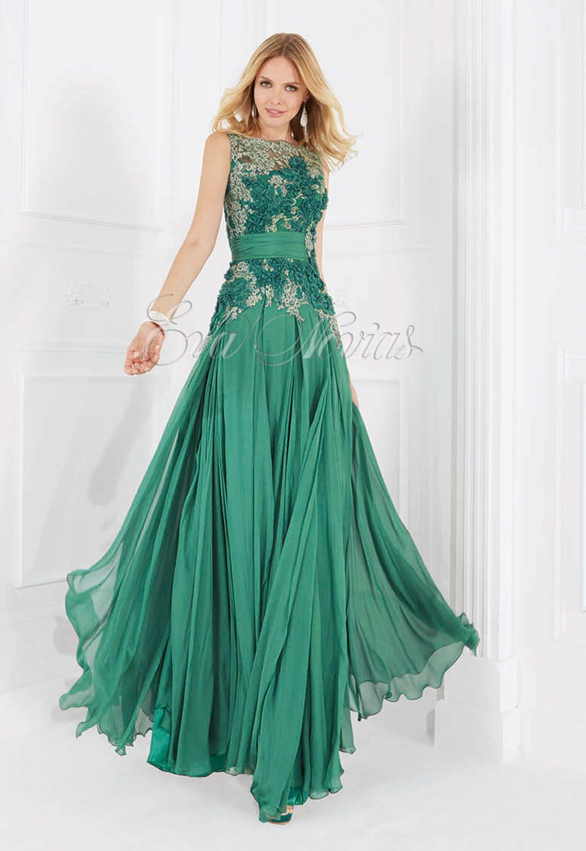 Vestido de fiesta Patricia Avendaño 2016 Modelo 3002 en Eva Novias ...