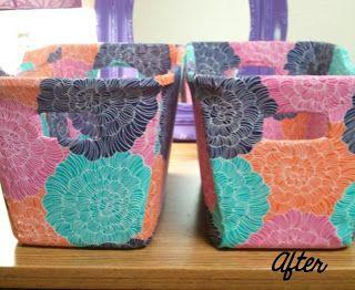 Dollar General Storage Bin Makeover Crafts Storage Bins Sewing Crafts