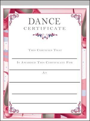 Dance certificate acro awards pinterest certificate dance certificate yadclub Image collections