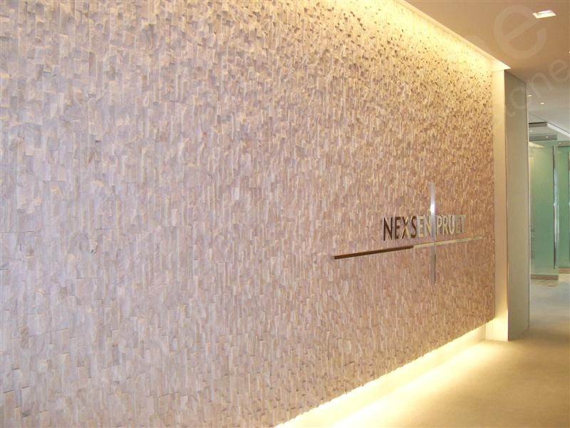 Pics For White Stone Wall Interior