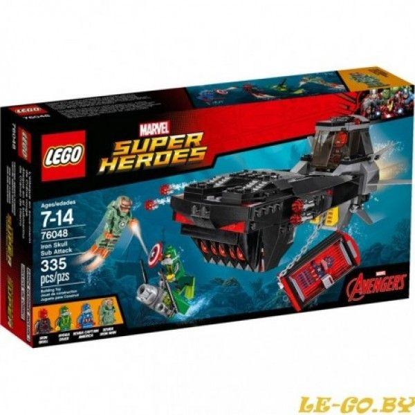 ATAQUE EN EL SUBMARINO DE CRANEO DE HIERRO - Lego - Sets de Construcción - Sets de Construcción JulioCepeda.com