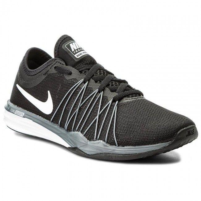 Schuhe NIKE - Wmns Nike Dual Fusion Tr Hit 844674 001 Black/White/Mtlc