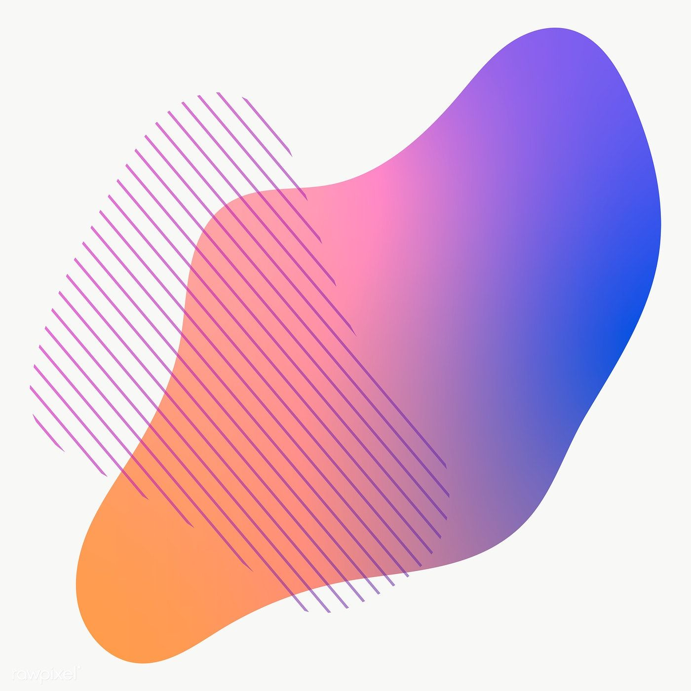 Colorful Gradient Element With Lines Free Image By Rawpixel Com Nunny Stock Images Free Gradient Png