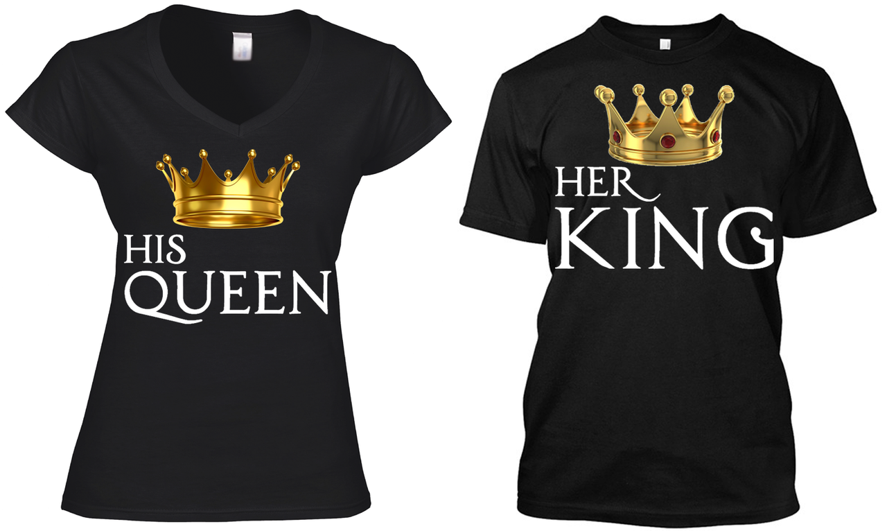 c603d2e9b TWO SHIRTS (HIS QUEEN - HER KING) - TIB Groups | CURVY FASHION THAT ...