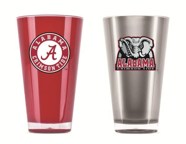 Alabama Crimson Tide Tumblers - Set of 2 (20 oz)