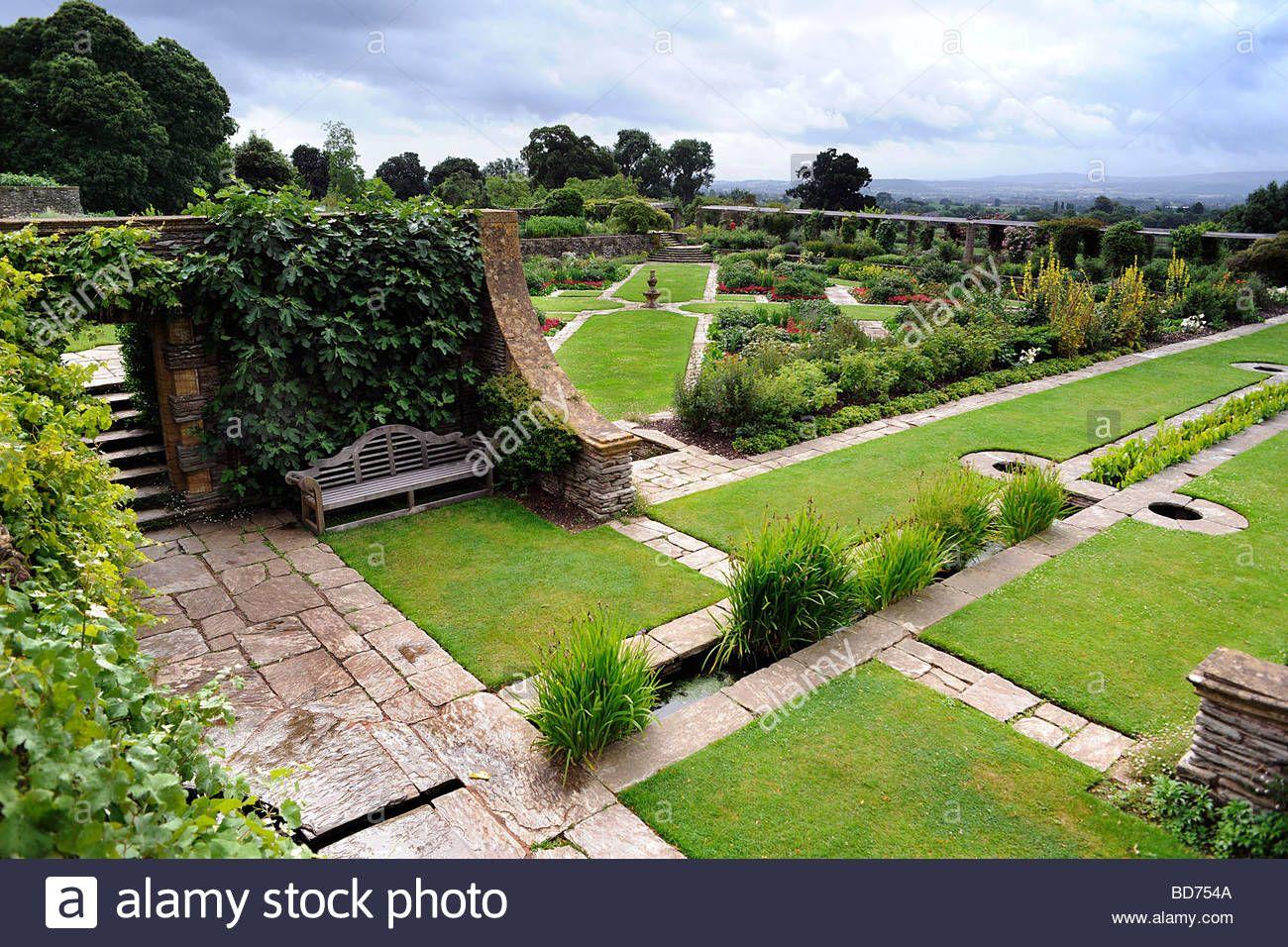 hestercombe-gardens-near-taunton-somerset-uk-landscaped ...