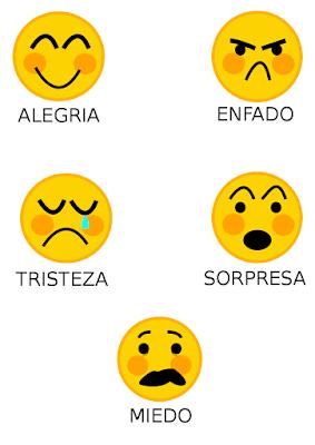 Mi Clase De Infantil Trabajamos Las Emociones Emociones Preescolares Emociones Enseñar Emociones