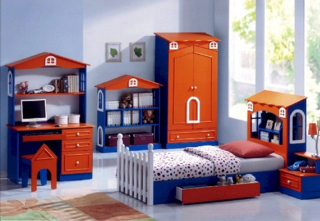 25 cozy kids bedroom furniture sets ideas that make their happy / freshouz | kids bedroom