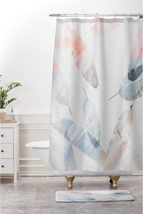 Deny Designs Iveta Abolina Silver Dove Christmas B Bath Mat Bedding Design Curtains Bath Rugs