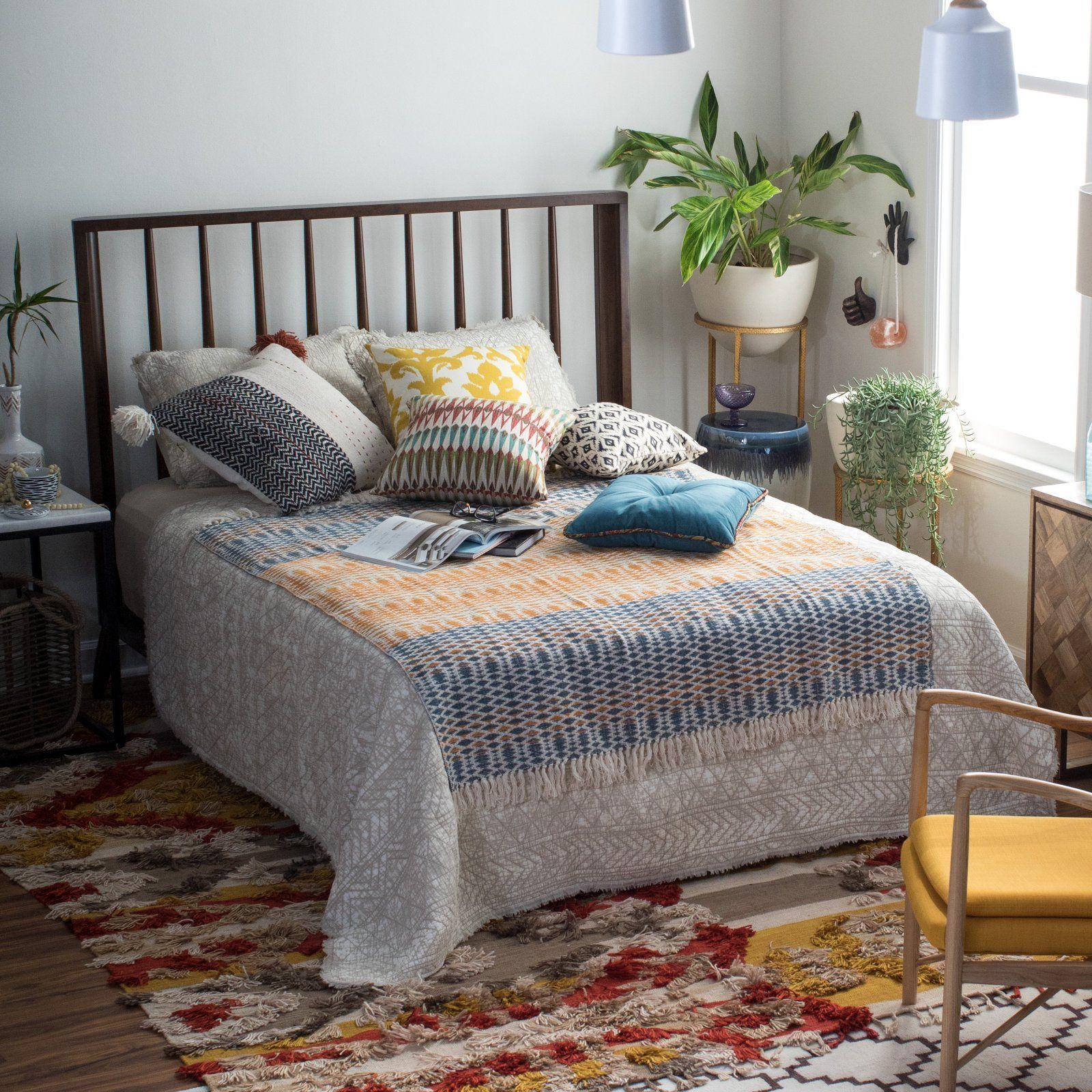 Belham Living Windsor Platform Bed Walnut Bed