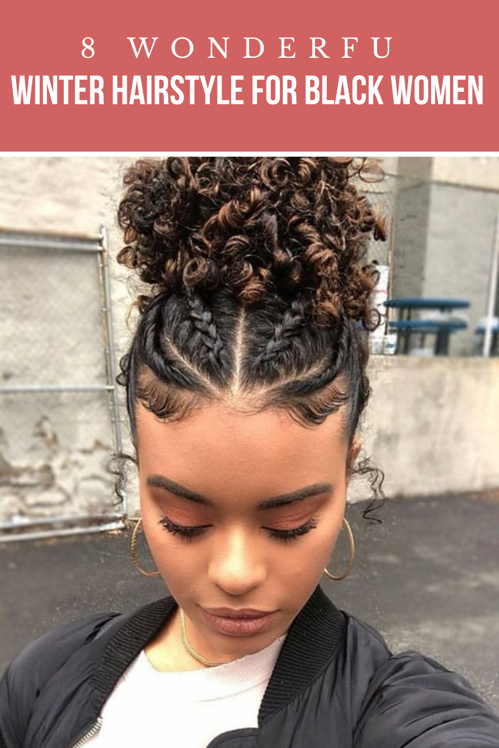 8 Wonderful Winter Hairstyle For Black Women 2020 Have A Look In 2020 Curly Hair Styles Naturally Curly Hair Styles Cute Curly Hairstyles