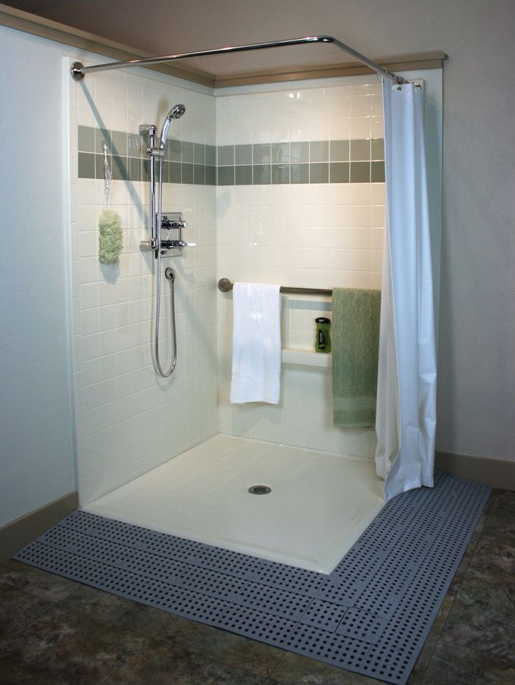 Handicap Showers | modern design | Pinterest | Bathroom designs ...