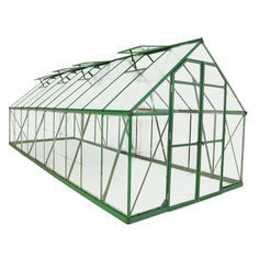 Enjoy this wonderful Green Balance Greenhouse. It features two (2) kinds of virtually unbreakable polycarbonate panels to give you the best of both worlds, creating an ideal combination of sunlight tr