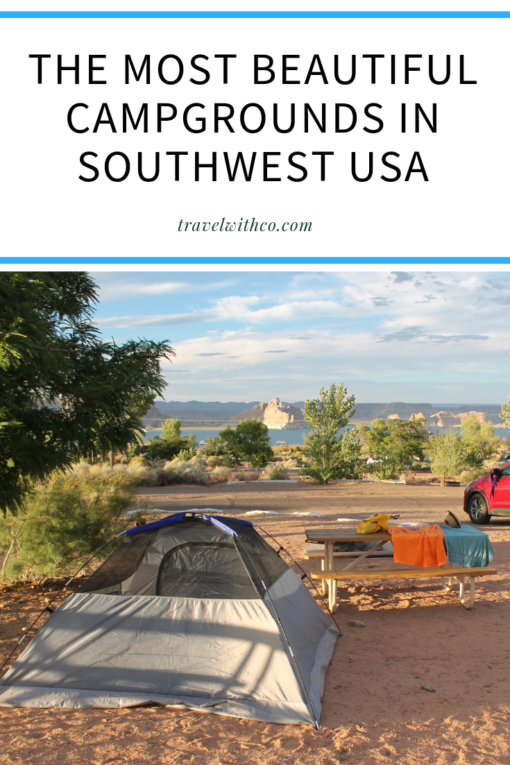 Camping in Southwest USA 7 beautiful campgrounds | Op reis