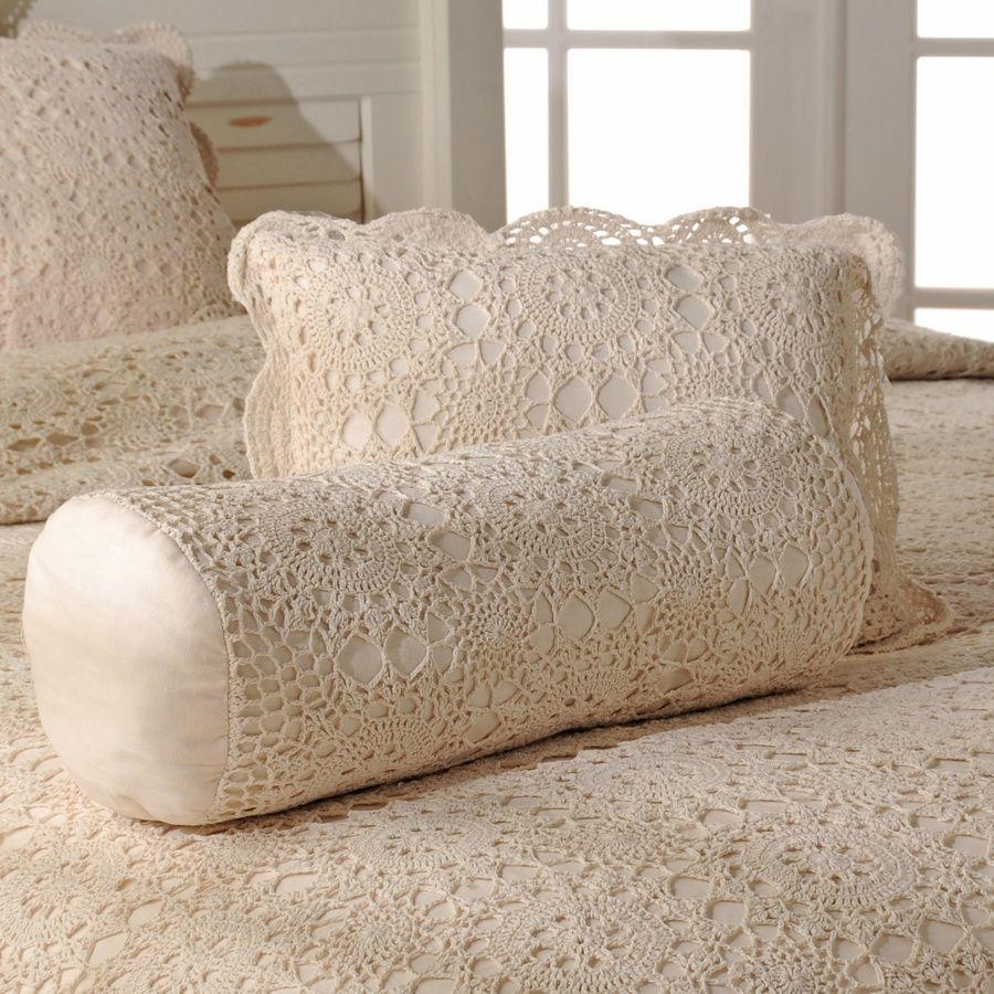 Crochet pillow inspiration crochetmacramecostura pinterest