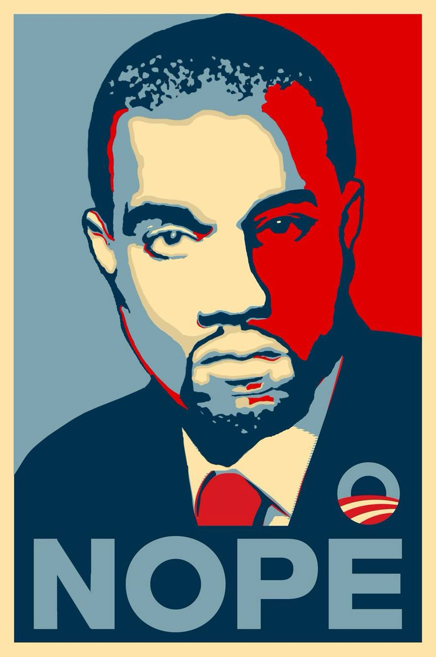Kanye West 2020 Campaign Graphic Design Graphic Image
