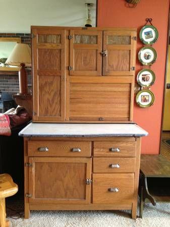 Antique Wilson Hoosier Cabinet Craigslist For 475 Hoosier