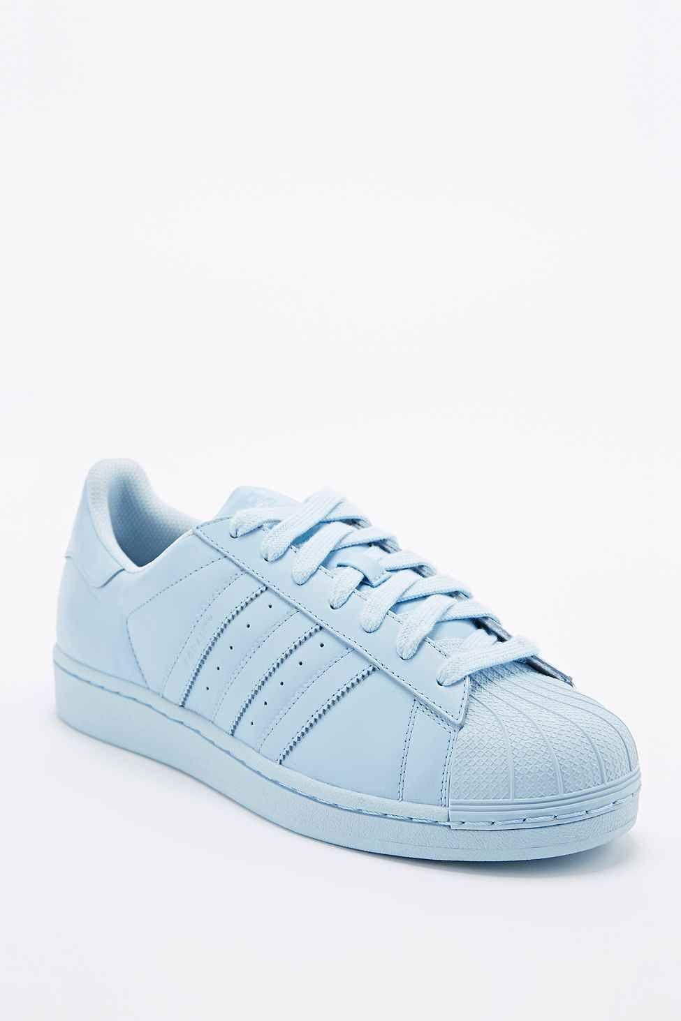 Adidas X Pharrell Sneaker Supercolor Superstar In Blau Adidas Supercolor Die Neuen Coolen Adidas Superstars By Phar Adidas Superstar Sneaker Turnschuhe