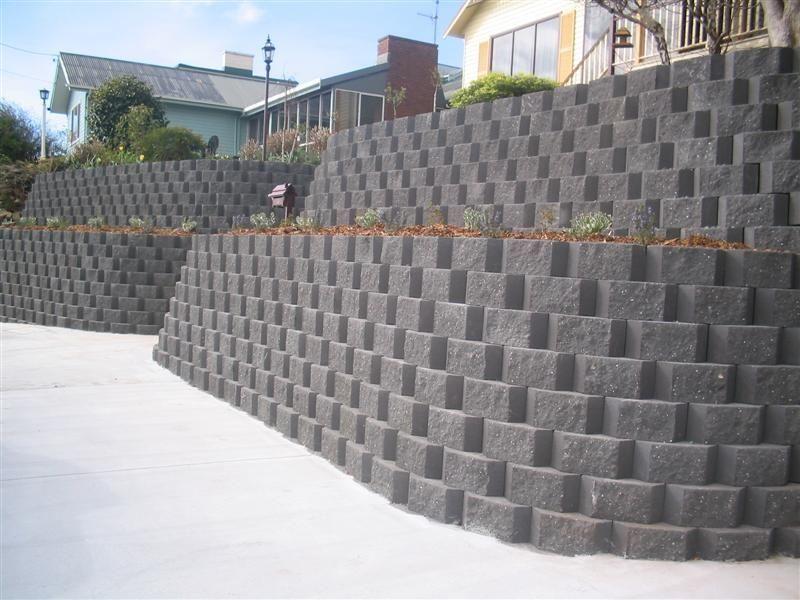 Retaining Wall Mur De Soutainement