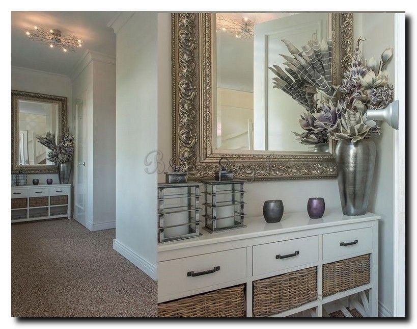 Spiegel Zwart Staal : Barok spiegel zilver in hal gang entree #halspiegel #hallway