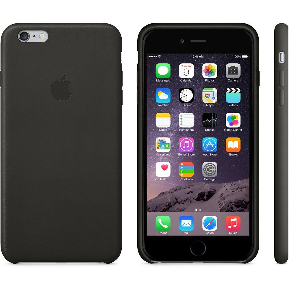 Iphone 6 Plus Leather Case Black Apple Store U S Un