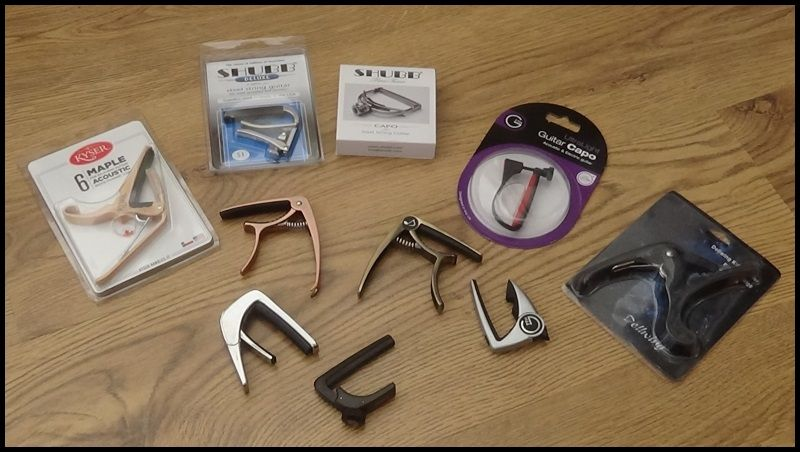 Guitar Capo Round Up Review What Is The Best Capo For Acoustic Guitarists Guitar Domination Guitar Capo Capos Guitar