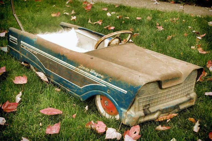 Dude Wagon Pedal Car Parts