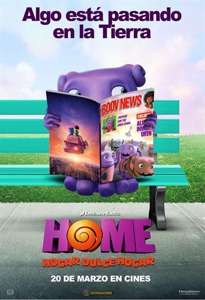 Home Hogar Dulce Hogar Poster Exclusivos Con El Alienigena Oh