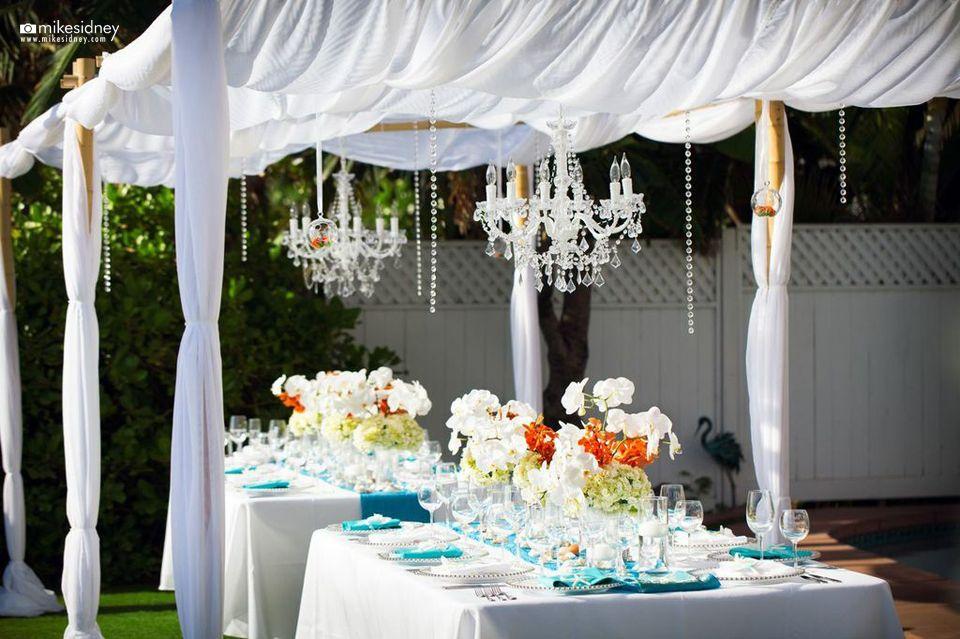 Custom Maui Wedding Cabana By Hawaiian Style Event Rentals