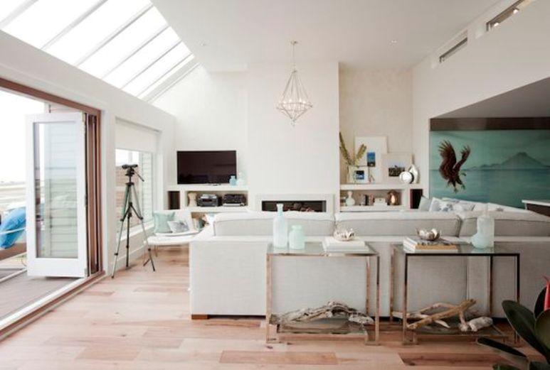 Cómo decorar la zona de la TV en el salón | MI CAAASA | Pinterest ...