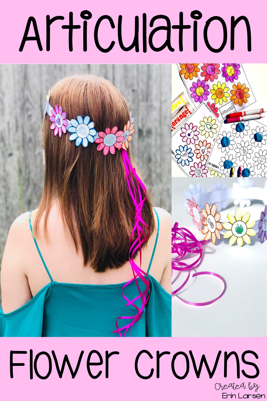 Spring Articulation Craft Flower Crowns