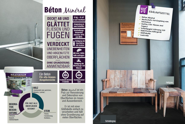 Fugenlose Designer Spachtelmasse Beton Mineral Resinence Wand Verputzen Beton Badezimmer Und Fliesen