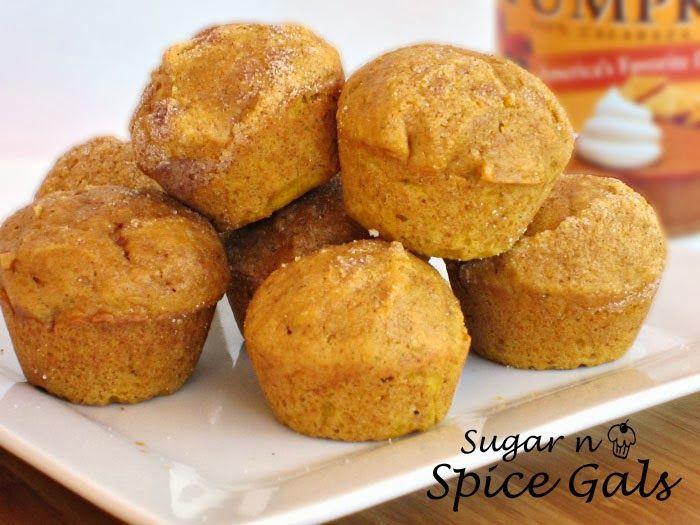 Spice Gals: Pumpkin Spice Mini Muffins