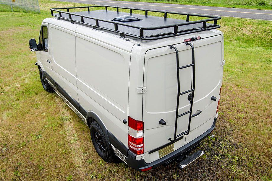 Https Www Outsidevan Com Option Custom Safari Roof Rack Cross Bars Roof Rack Van Roof Racks Fibreglass Roof