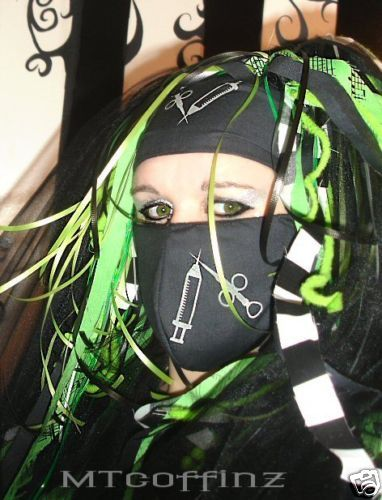 goth surgical mask