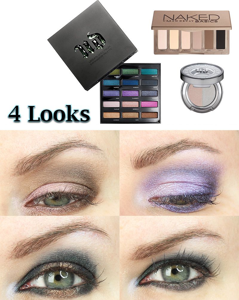 Four Urban Decay Spectrum Palette Looks | More Urban decay ...