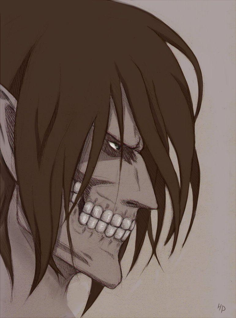 eren titan form side view Eren. titan form by Narmovin on deviantART  Attack on titan anime