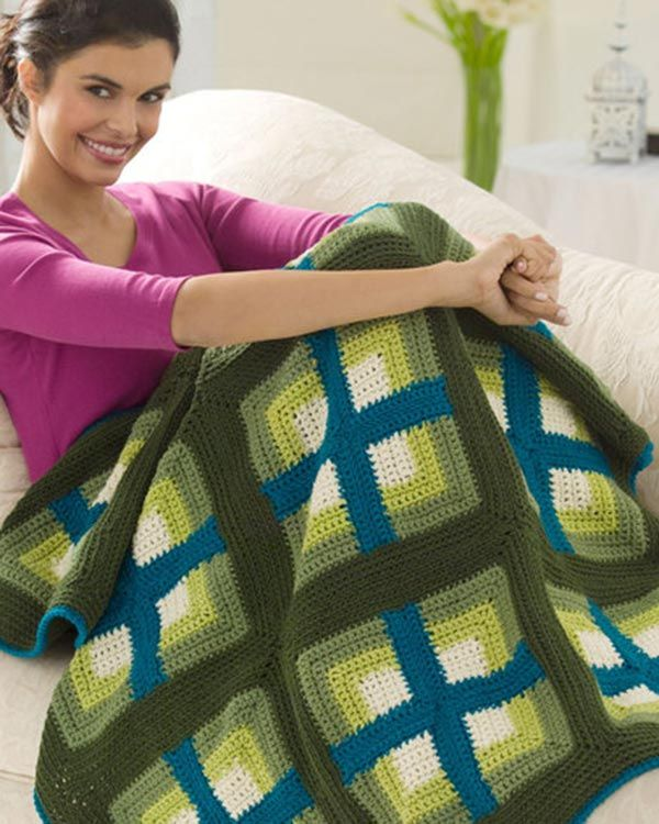 Best Free Crochet Free Windows Afghan Crochet Pattern From