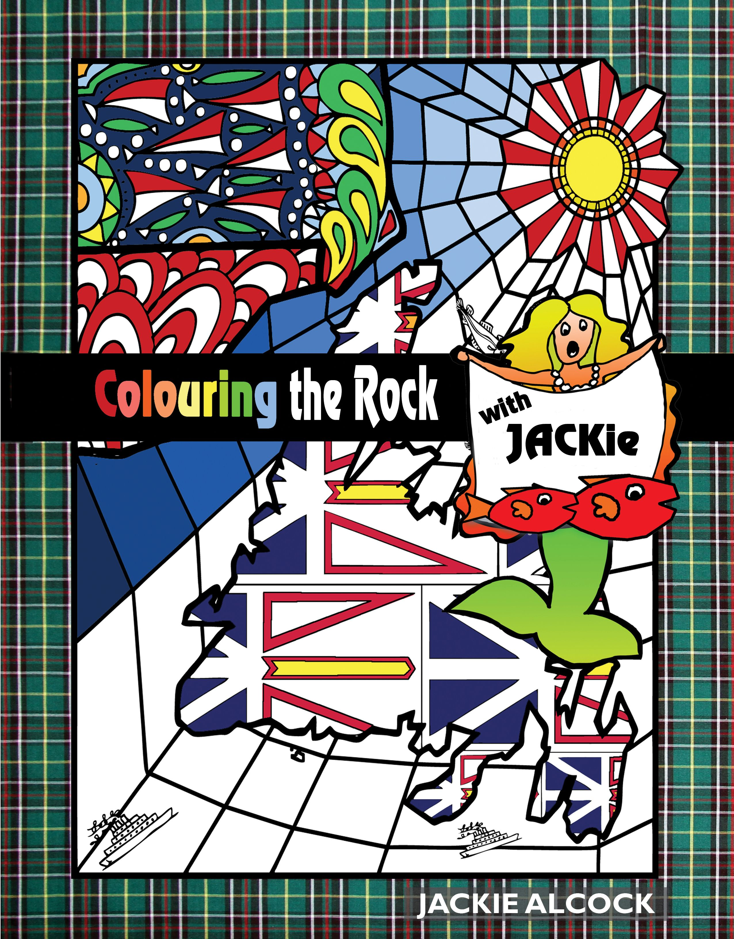 Colouring The Rock With Jackie Newfoundland And Labrador Colouring For Adults Jackie Alcock Bfa From Cor Sketch Book Newfoundland And Labrador Newfoundland