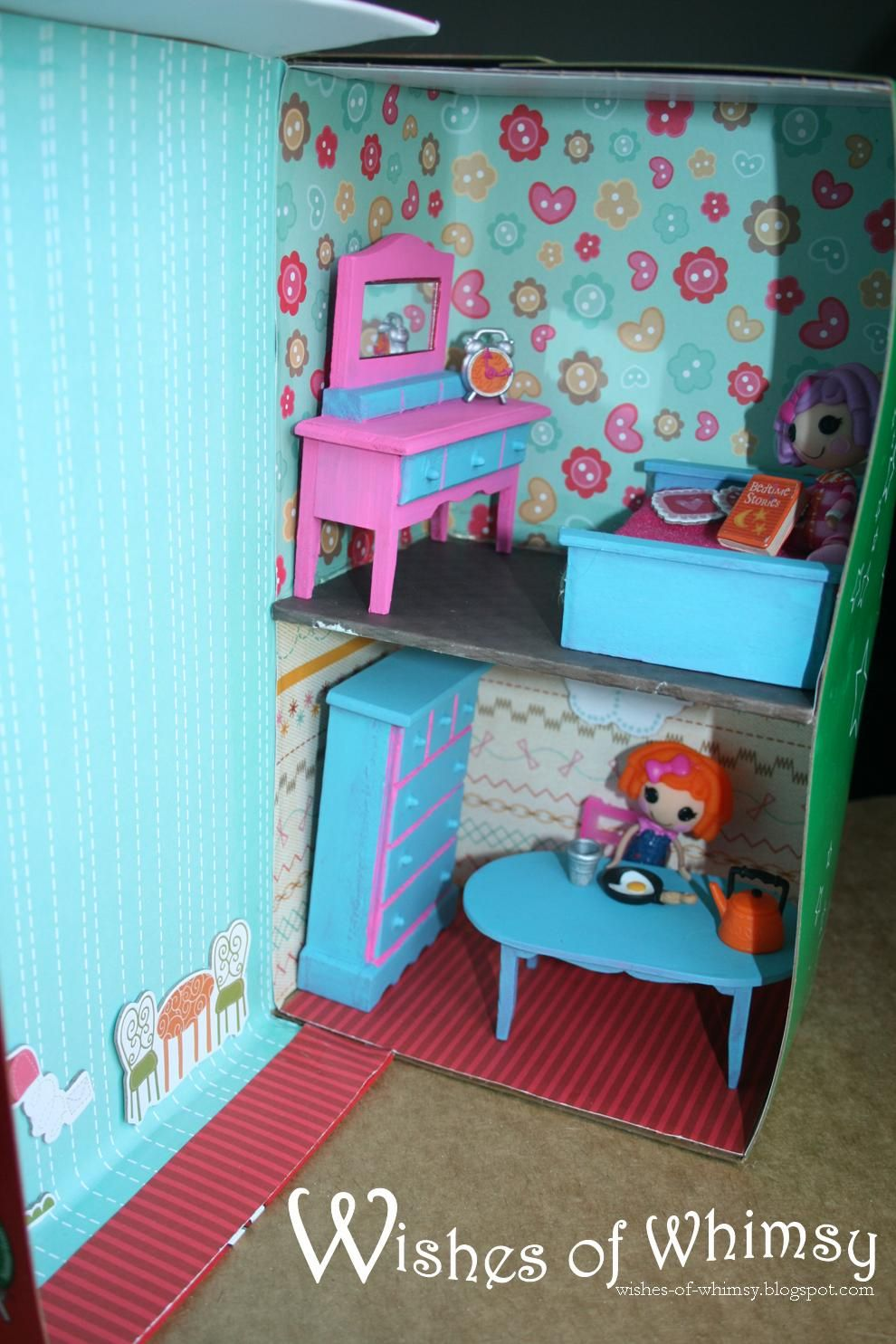 Shoebox Dollhouse Shoe Box Doll House Shoe Box Crafts