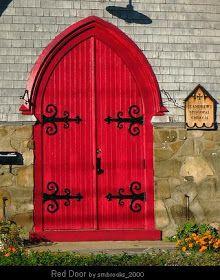 In Scotland A Red Door Means You Are Mortgage Free Red Door Doors Red Front Door