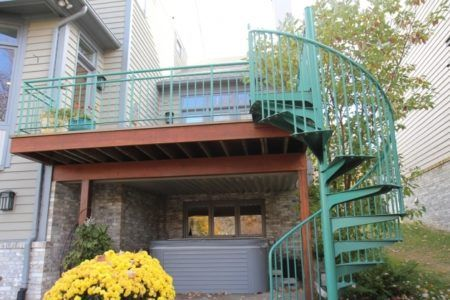 Spiral Staircases for Decks – Stair Design Ideas