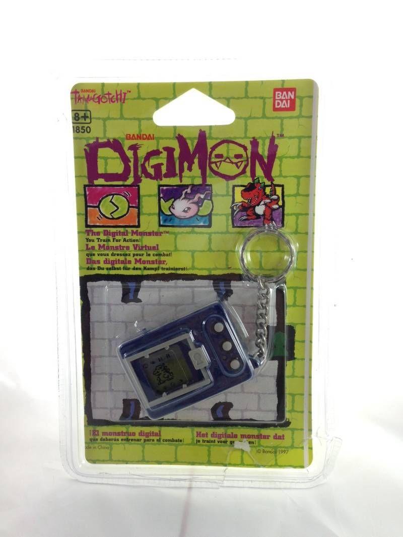 Tamagotchi Digital-Monster (Digimon) Digivice Bleu foncé / Dark blue