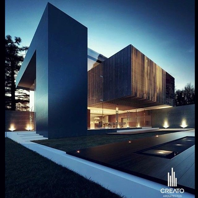 Pin By Mohamed O On Modern Villas: Instagram Media By Architecture_hunter