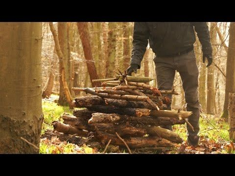 The Best Ways to Start a Fire with Wet Wood | Bushcraft skills, Camping hacks, Fire