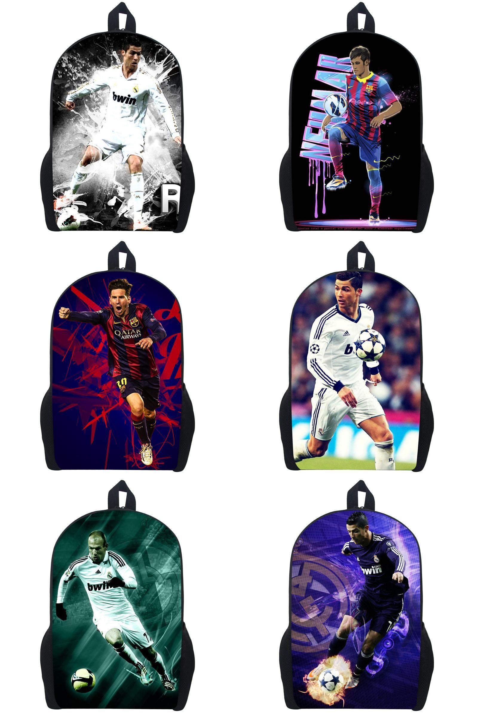 visit to cristiano ronaldo messi neymar backpack cool