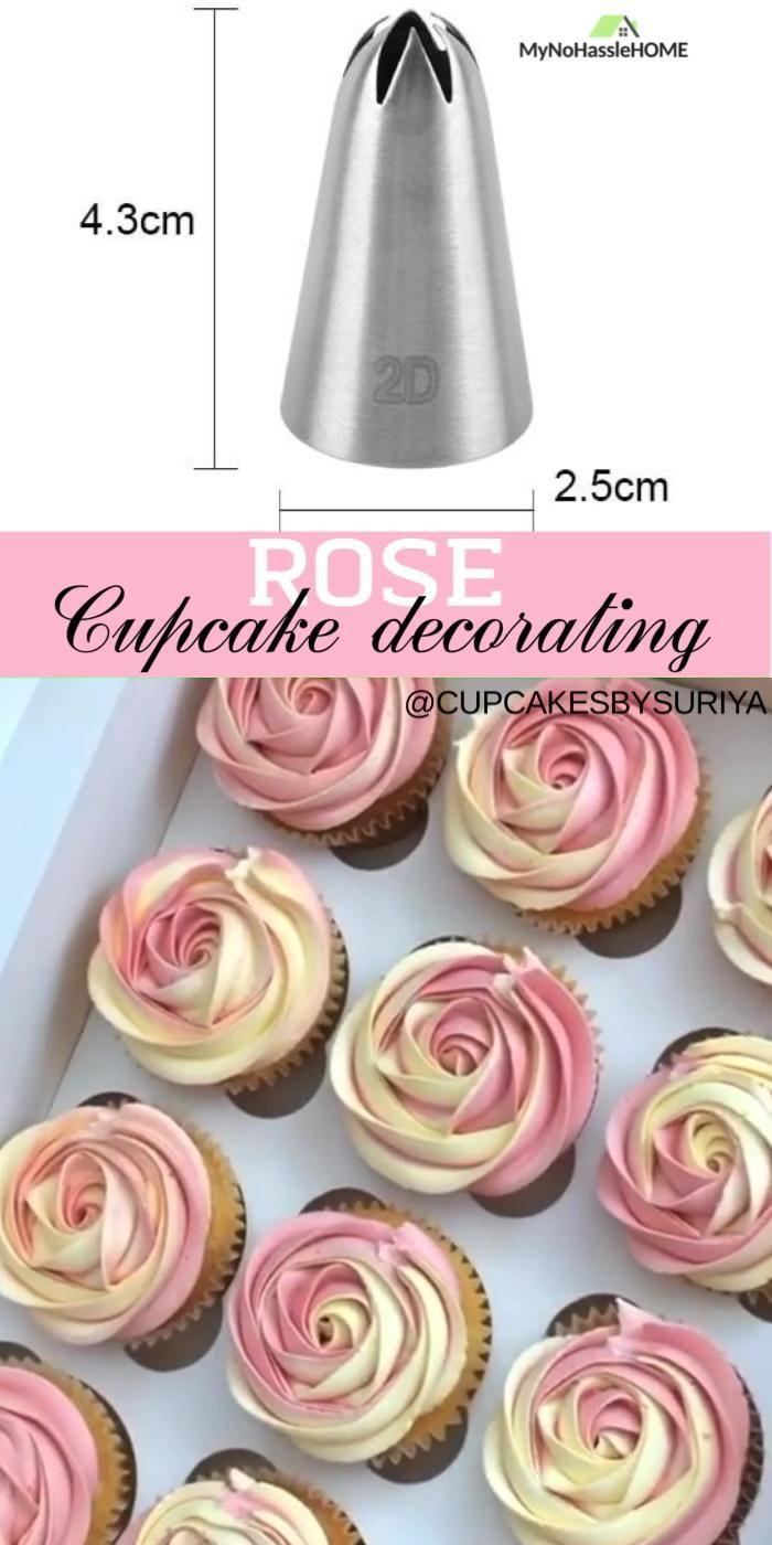 3pcs/set Rose Flower piping Tips
